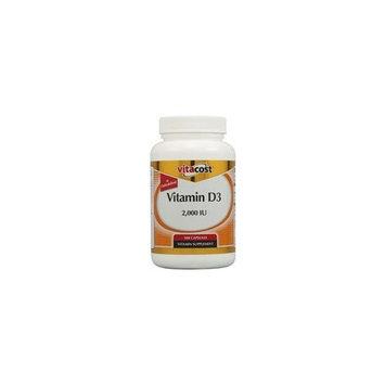 Vitacost Brand Vitacost Vitamin D3 (as Cholecalciferol) -- 2000 IU - 300 Capsules