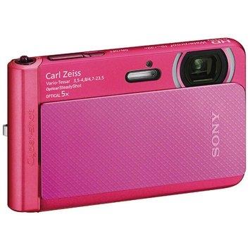 Sony Cyber-Shot DSC-TX30 Shock & Waterproof Digital Camera (Pink)