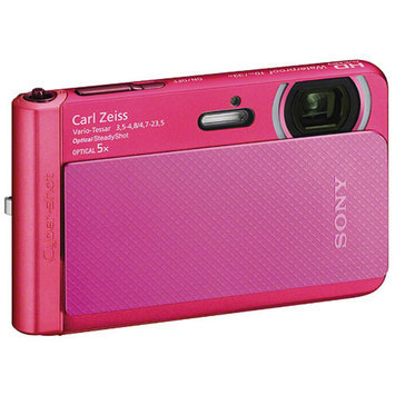 Sony Cyber-Shot DSC-TX30 Shock & Waterproof Digital Camera (Pink)