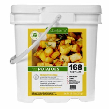 Lindon Farms Freeze Dried Diced Potatoes, 156 Servings, 1 ea