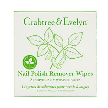 Crabtree & Evelyn Soy Nail Lacquer Remover Wipes, 8 ea