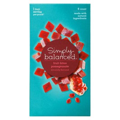 Simply Balanced Pomegranate Fruit Bites 5.1 oz
