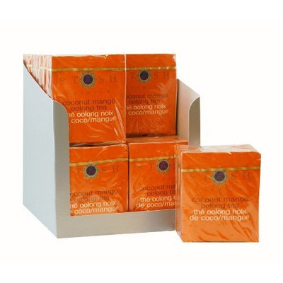Stash Tea Company Stash Tea Coconut Mango Oolong Tea, 10 Count Tea Bags in Foil (Pack of 12)