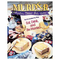 BePuzzled Eat Drink and Be Married Murder Mystery Party Game Ages 16+