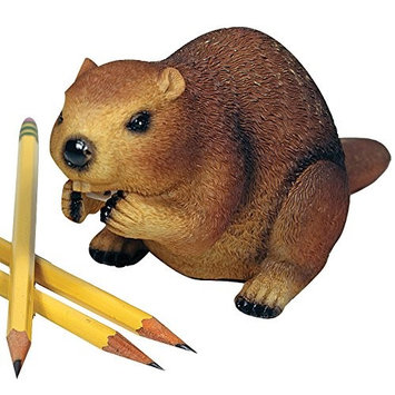 Streamline Busy Beaver Twist Pencil Sharpener Eager Animal Home Office Desk Accessory