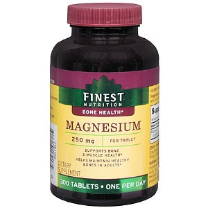 Finest Nutrition Magnesium 250mg Tabs 300s