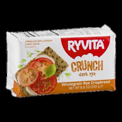 Ryvita Wholegrain Rye Crispbread Crunch Dark Rye