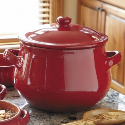 CHEFS Tuscan Soup Pot - Red