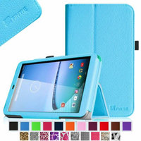 Fintie Premium Vegan Leather Stand Cover with Stylus Loop for Hisense Sero 8 Tablet, Blue