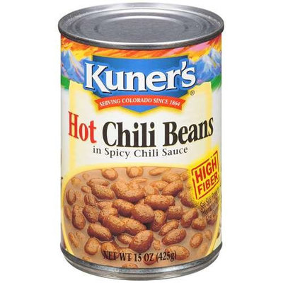 Kuners Kuner's: In Spicy Chili Sauce Hot Chili Beans, 15 oz