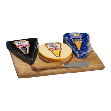 Roth Kase Mini Cheeseboard Kit Cheddar, Gouda & Blue Cheese - 3 CT