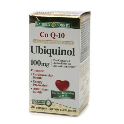 Nature's Bounty CoQ10 Advanced Active Form Ubiquinol 100 mg
