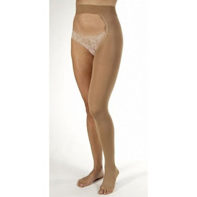JOBST Relief Compression Support Chap Style 30-40mmHg Left and Right Leg Open Toe, L, Beige