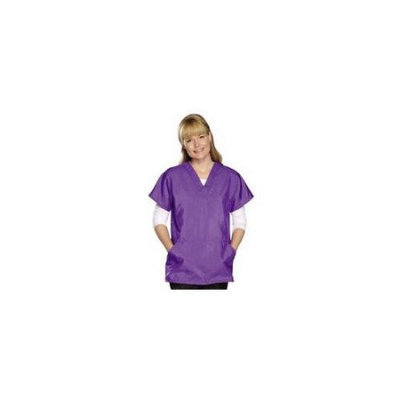Petedge Top Performance TP397 14 77 Top Performance V-Neck Grmg Smock Sm Plum