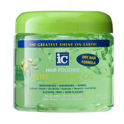 Fantasia IC Hair Polisher Olive Styling Gel - 16 oz