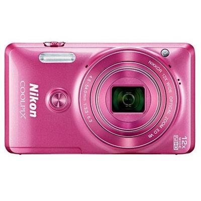 Nikon Coolpix S6900 Wi-Fi Digital Camera (Pink)