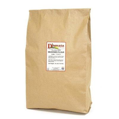 Domata Flour Domata Gluten Free Seasoned Flour, 25 lb Bag