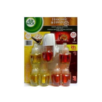 Air Wick Scented Oil Refills Apple Strudel + Vanilla Butter Cream 8Pc Set