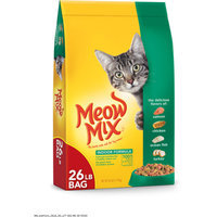 Meow Mix Indoor Formula Dry Cat Food, 26-Pound