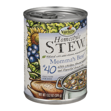 Variety Pet Foods Homestyle Dog Food Momma's Best #40