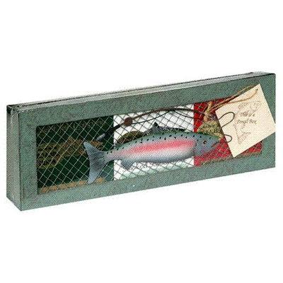 Kasilof Fish Company Smoked Salmon and Mesh Gift Box, 10.5-Ounce Unit