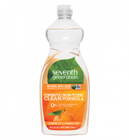 Seventh Generation Lemongrass & Clementine Zest Natural Dish Liquid