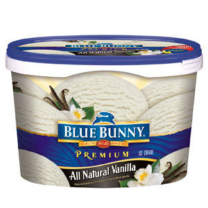 Blue Bunny Ice Cream Premium All Natural Vanilla