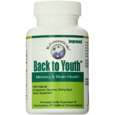 Balanceuticals Back to Youth Dietary Supplement Capsules, 500 mg, 60 Count Bottle