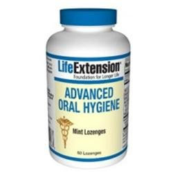 Life Extension - Advanced Oral Hygiene Mint - 60 Vegetarian Lozenges