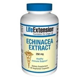 Life Extension Echinacea Extract - 250 mg - 60 Vegetarian Capsules