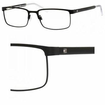Tommy Hilfiger 1235 Eyeglasses-0FSW Matte Black Crystal -55mm