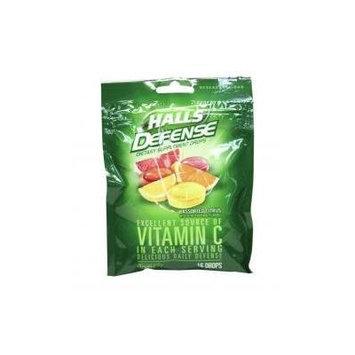 Halls Defense Vitamin C 16 Drops Bag