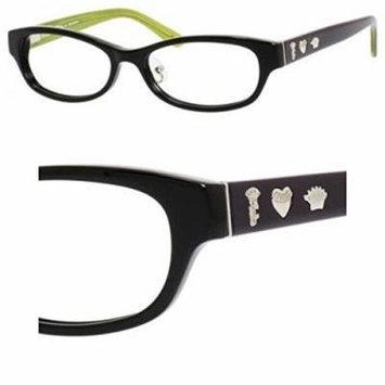 JUICY COUTURE Eyeglasses 134/F 0807 Black 51MM