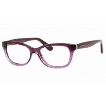 Jimmy Choo Eyeglasses JC 87 Violet Glitter 51-16-140