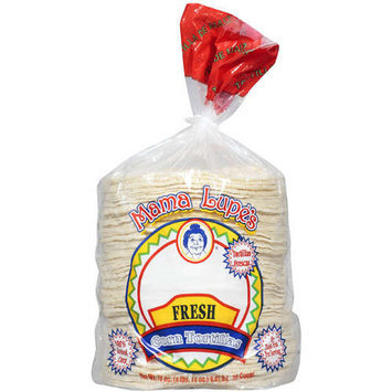 Mama Lupe's: Tortillas Fresh Corn, 78 Oz