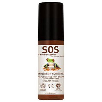 Intelligent Nutrients USDA Certified Organic Replenishing Hair Spray, 2 fl oz