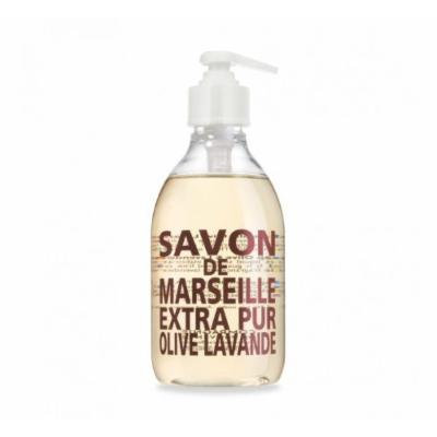 Compagnie de Provence Liquid Marseille Soap in 10 oz Plastic Bottle (Olive & Lavender)
