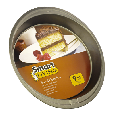 Smart Living Round Cake Pan 9 Inches