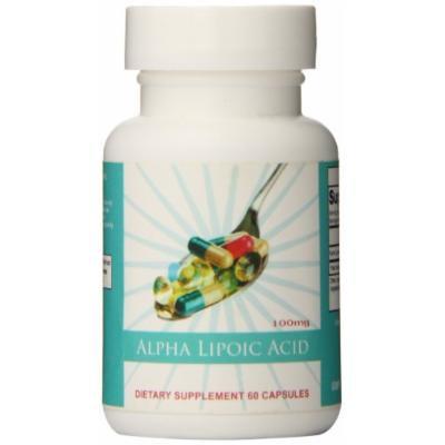 Eden Pond Alpha Lipoic Acid Capsules, 60 Count