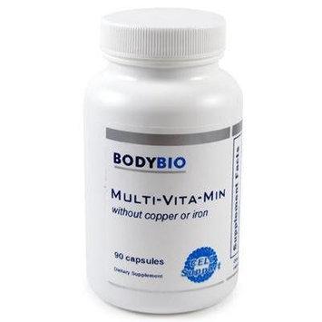 BodyBio , Multi-Vita-Min , w/o Copper or Iron , 90 Capsules