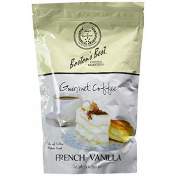Boston's Best Coffee Roasters - French Vanilla Gourmet Coffee - 12 Ounces