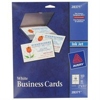 AVERY Ink Jet Printer Business Cards