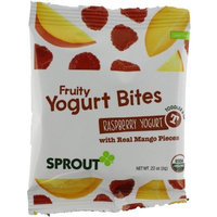 Sprout Fruity Yogurt Bites, Raspberry Yogurt with Mango, 1.1 Ounce