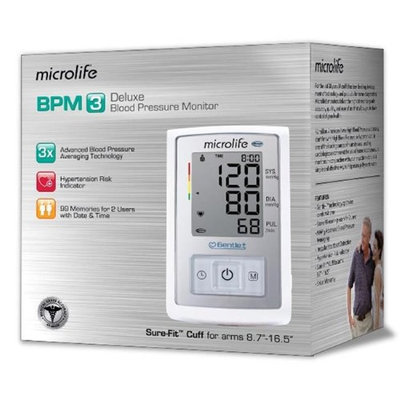 Microlife BP3GX1-5N BPM3 - Deluxe Blood Pressure Monitor