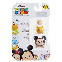 Jakks HK Ltd. Disney Tsum Tsum 3 Pack Series 1 Figures - Cinderella, Winnie the Pooh, Mickey