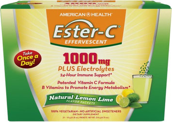 American Health Ester- C Effervescent - Natural Lemon Lime