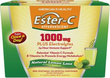 American Health Ester- C Effervescent - Natural Lemon Lime