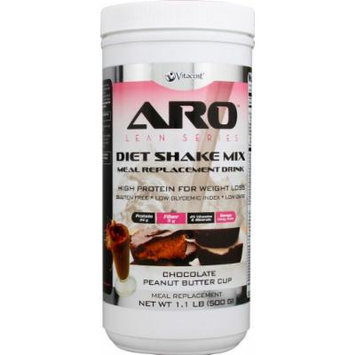 ARO-Vitacost Lean Series Diet Shake Mix Chocolate Peanut Butter Cup -- 1.1 lbs (500 g)