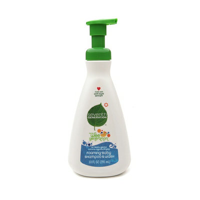Seventh Generation Wee Generation Foaming Baby Shampoo & Wash