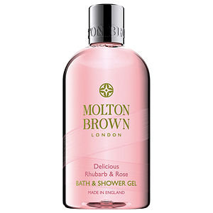 Molton Brown Delicious Rhubarb and Rose Body Wash (300ml)